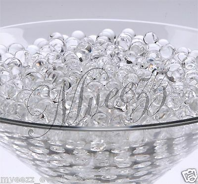 10 Pks Clear Water Bio Crystal Soil Party Event Ball Beads Wedding Centerpiece