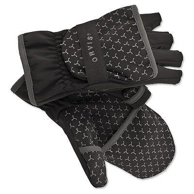 Orvis Mirage Soft Shell Convertible Fishing Gloves