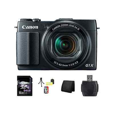 Canon PowerShot G1 X Mark II Digital Camera 64GB Package