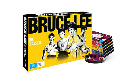 Bruce Lee: The Classics Collector's Set • 8 DVD'S • NEW • R4 • PAL