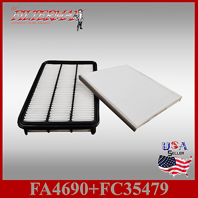 FA4690 FC35479 PREMIUM ENGINE /& CABIN AIR FILTER for 2000-04 TOYOTA CAMRY V6 3.0