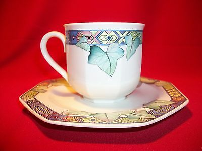 Villeroy & Boch China Pasadena Cup and Saucer   NEW