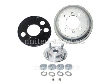 Vespa VBC VBA VBB VNC VNB Rear Brake Drum Flange Hub 8 Inch Wheel V2201