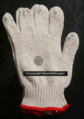 Small size jewelry buffing gloves 1 pair silversmith goldsmith polishing gloves