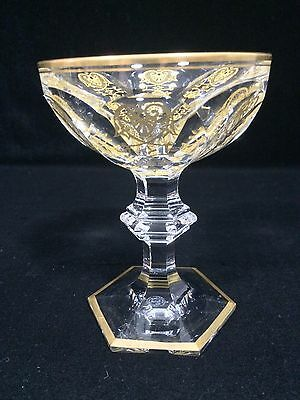 Baccarat Crystal Harcourt Empire Champagne/Sherbert Glass 1 pc, 5 available