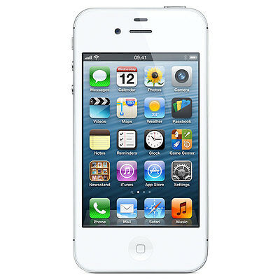 Unlocked Apple Iphone 4S 16GB GSM SmartPhone White