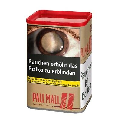 Pall Mall Authentic Red ohne Aroma 65 Gramm Zigarettentabak / Tabak