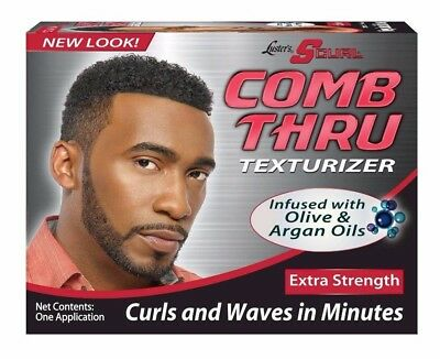 "Luster's Scurl Comb Thru Texturizer Extra Strength ""curls And Waves In Minutes"