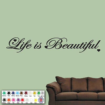 LIFE IS BEAUTIFUL\