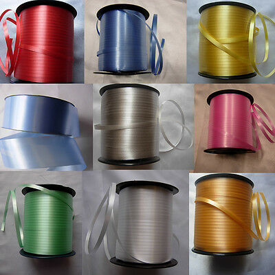 500m Curling Ribbon Helium Wedding Birthday Party Balloon Crafts in 7 colour