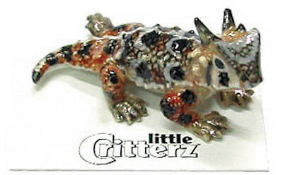 "LC314 - little Critterz  - Horned Toad named ""Rip"" (Buy any 5 get 6th free!)"