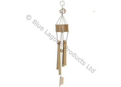 57cm Hanging Bamboo Wind Chime Decorative Outdoor Ornament Garden Home Mobile