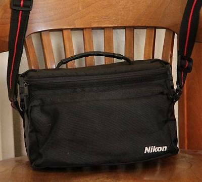 Nikon Camera Bag with adjustible compartments & Carring Strap