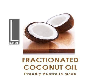 FRACTIONATED COCONUT OIL PURE NATURAL BASE CARRIER OIL 5 Litre