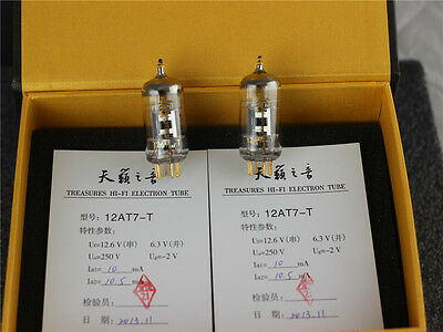 mathed pair(2pc)  Shuguang 12AT7-T tubes