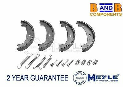 Bmw E46 E90 E91 330 Hand Brake Parking Shoe + Fitting Kit Meyle 34416761292 A806