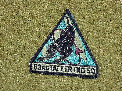 32250) Military Patch USAF 63rd Tactical Fighter Training Squadron Air Force