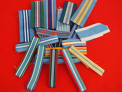 "United Nations Medal Ribbons FS and Mini sold in 10"" lengths, TKS UK made"