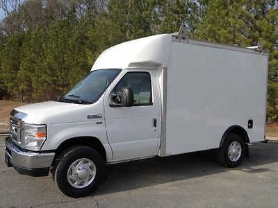 Ford : E-Series Van 10ft Service Utility Van Ford : 2011 E350 Commercial Box Van 10ft Service Utility 28K Miles 1Owner