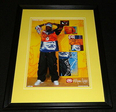 Jermaine Dupri 1999 Marc Ecko Holiday Coll. Framed 11x14 ORIGINAL Advertisement