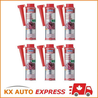 6x Liqui Moly Super Diesel Additive Engine & Injector Cleaner 300ml LiquiMoly