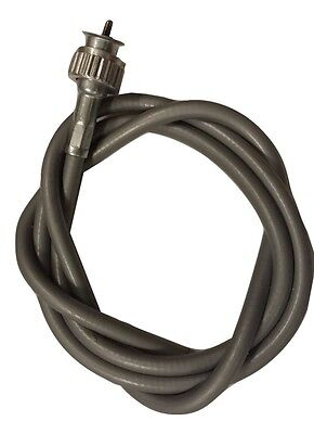 ukscooters VESPA SPEEDOMETER CABLE INNER OUTER PX LML T5 SCREW TYPE GREY SPEEDO