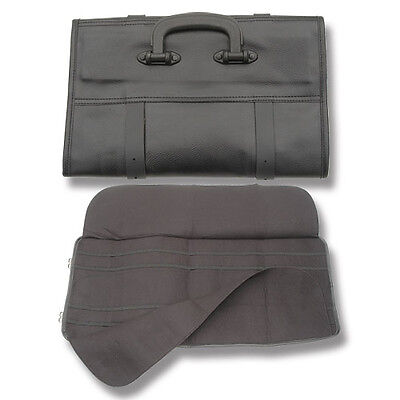 Heavy Duty EXTRA Large Pocket Knife Storage Roll case for knives free shipping