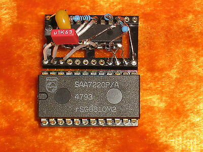 Nos reclock PCB for TDA1541A SAA7220 based dacs and players