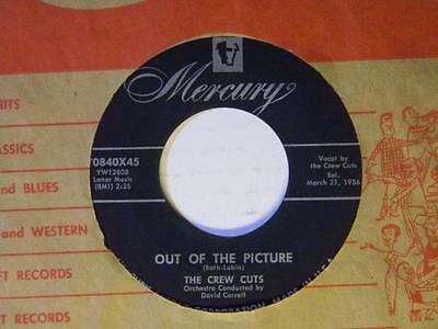 The Crew Cuts 45 OUT OF THE PICTURE / HONEY HAIR SUGAR LIPS ~Mercury VG+ dancer