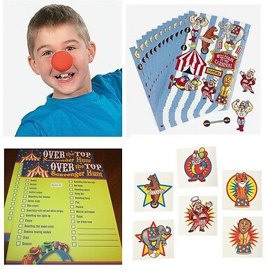 Lot 108 Over the Top Circus carnival Birthday party favors school pinata clown