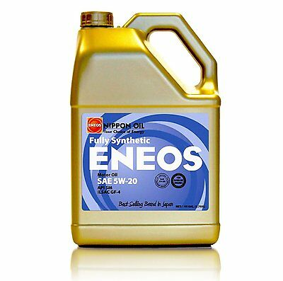 Eneos High Performance SAE 5W20 Full Synthetic Motor Oil 4.73L x1 Jug