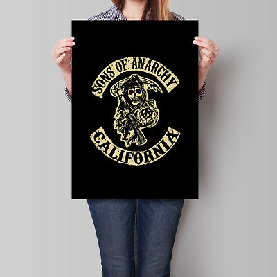 Sons of Anarchy Poster TV Show SOA California A2 A3 A4