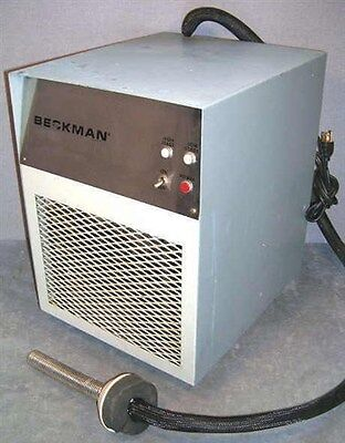 Beckman Refrigeration Unit With Cooling Probe On Hose