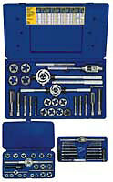 Irwin Hanson 97312 66 Piece Metric Tap And Die Set 3-24Mm
