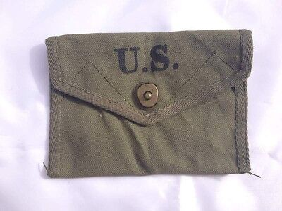 Military WWII US Army First Aid Pouch 1943-US036