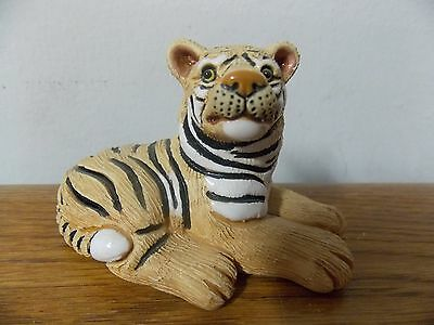 TIGER FIGURINE SIGNED COAD