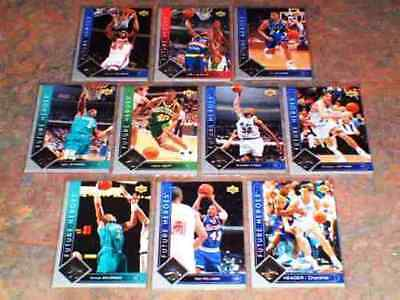 1993-94 UPPER DECK BASKETBALL FUTURE HEROES SET -SHAQUILLE O'NEAL/MOURNING SP/UD