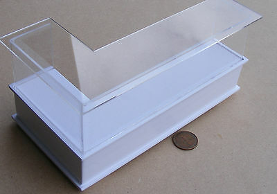 1:12 Scale White Painted Shop Display Counter Doll House Miniature Accessory HWR