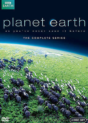 Planet Earth: The Complete Series DVD Region 1, NTSC