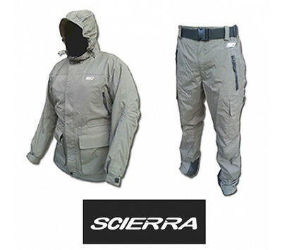 Scierra KENAI : 2-Piece Waterproof & Breathable Fishing Suit - RRP £209.98