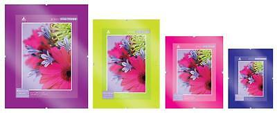 Glass Clip Frame Photo Picture Clip Frame x Pack of 12 Wholesale Various Sizes