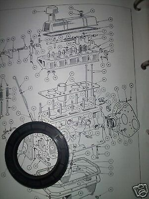 TRIUMPH Spitfire MKIV 1500 GT6 2000 TR6 Dolomite FRONT TIMING COVER OIL SEAL