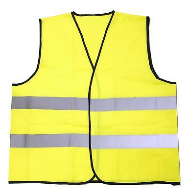 Halfords High Visibility Hi Vis Vest Family Pack 4 Pieces Fluorescent Reflective