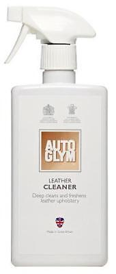 Autoglym Car Vehicle Van Leather Cleaner 500ml Upholstery Care Cleaning Valeting
