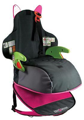 Trunki BoostApak Child Booster Seat Pink Forward Direction 15-36kg Backpack