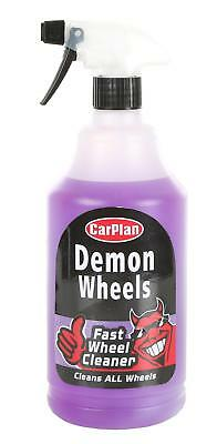 Demon Wheels Universal Wheel Cleaner 1L Car Cleaning Valeting Road Dirt Remover