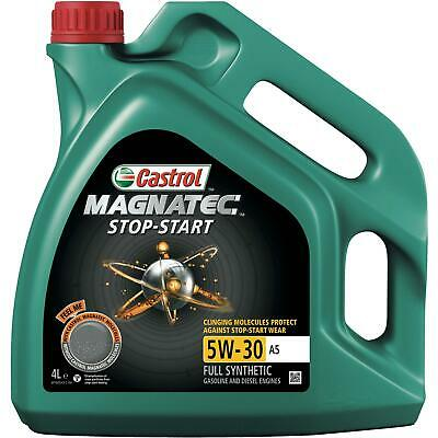 Castrol Magnatec SAE 5W-30 A5 Motor Engine Oil 4 Litres Fully Synthetic