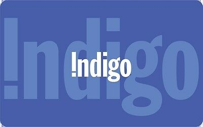 Indigo Gift Card - $50 Mail Delivery