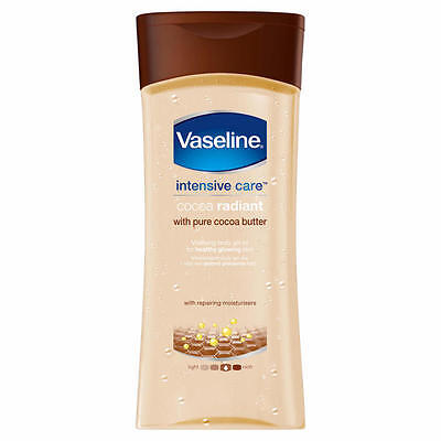 Vaseline Intensive Care Cocoa Radiant Vitalising Body Oil Gel 200ml NEW