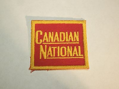 Canadian National CN Railway Company Train Sew On Patch